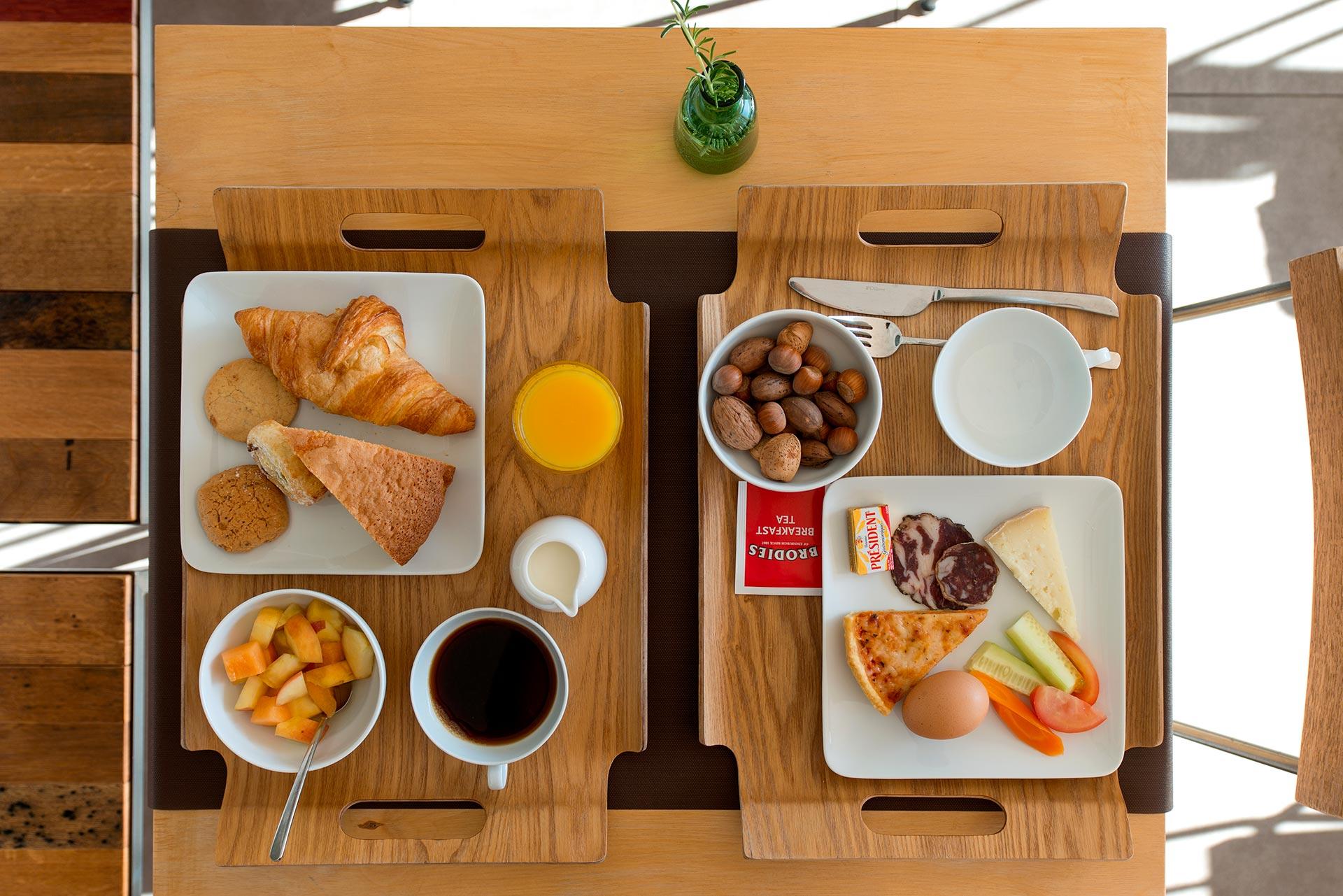 Petit déjeuner hôtel de charme en Corse