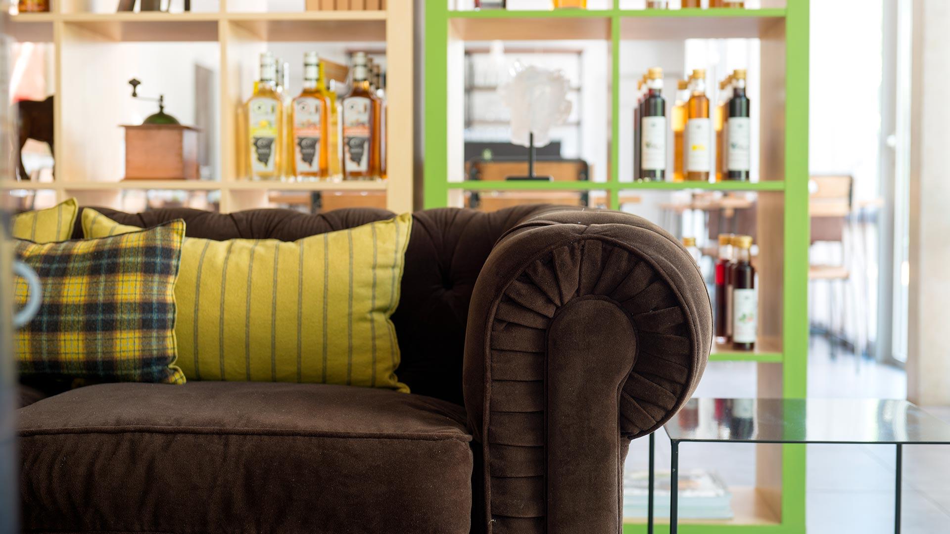 Salle de restaurant de l'hôtel de charme artemisia