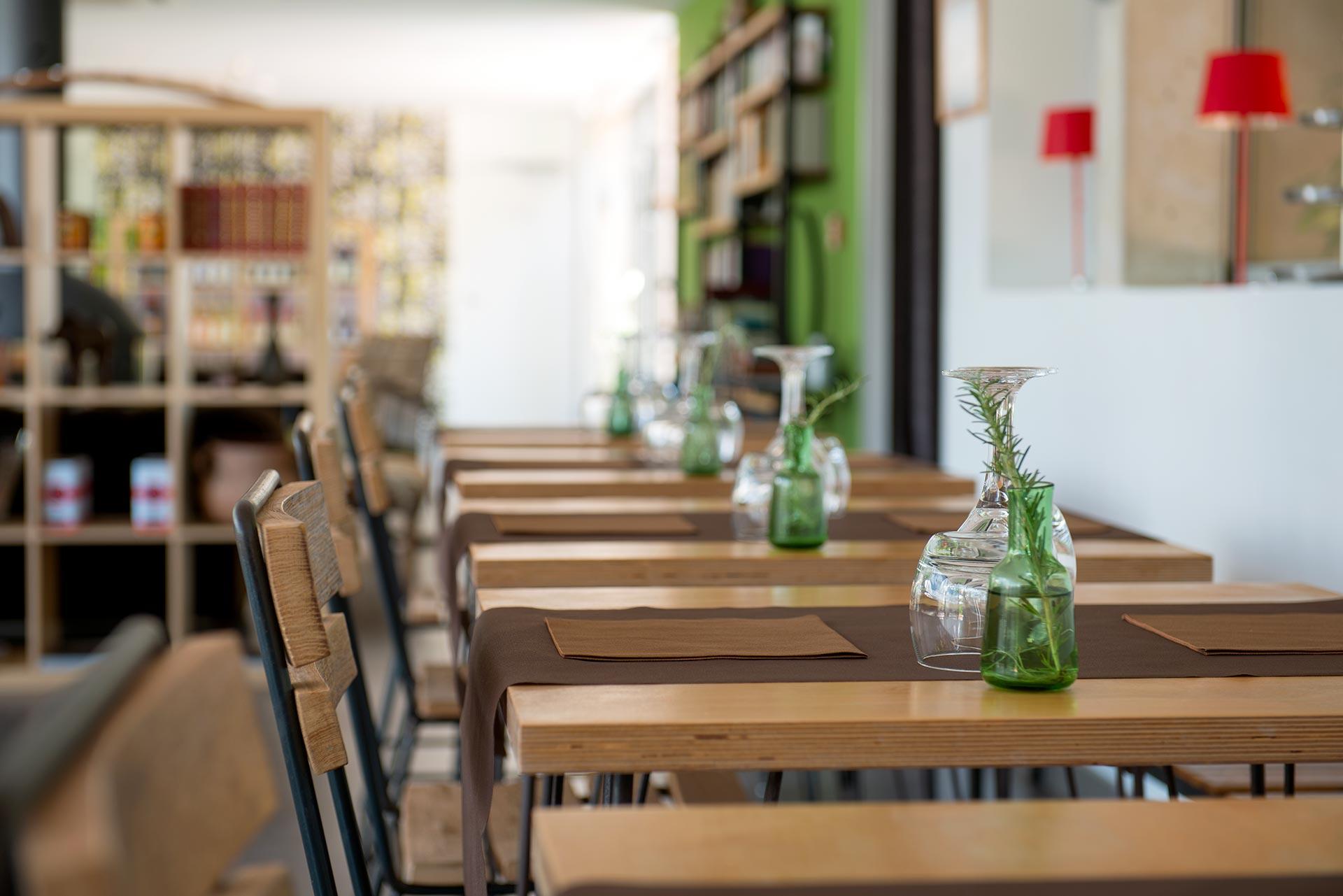 Déjeuner dans un hôtel design en Corse
