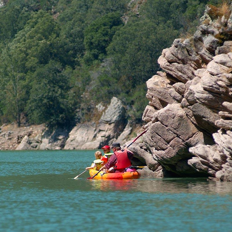 Le Lac de Tolla en Corse du sud