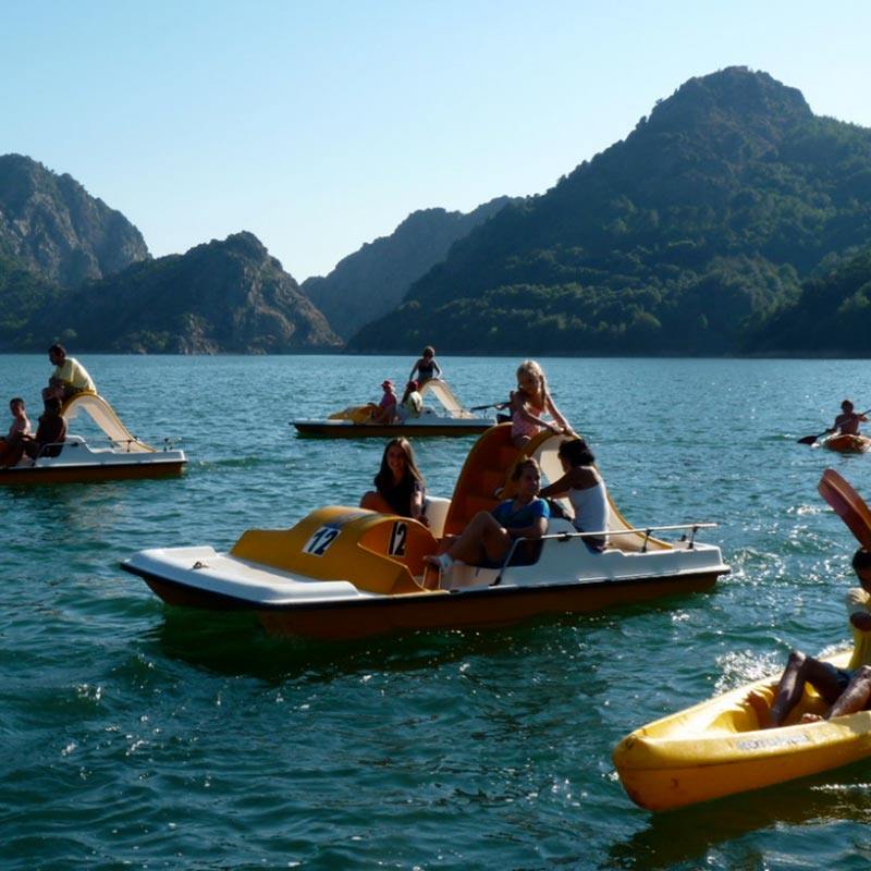 Lac de Tolla pres de Bastelica en Corse