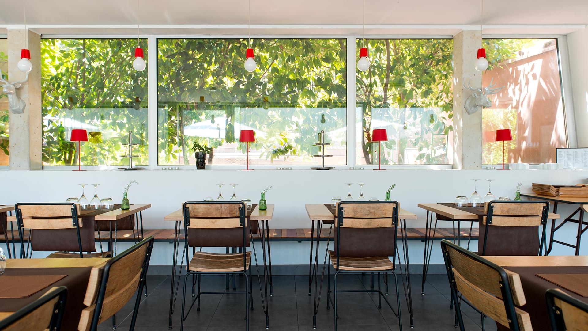 Salle à manger hotel de charme en Corse
