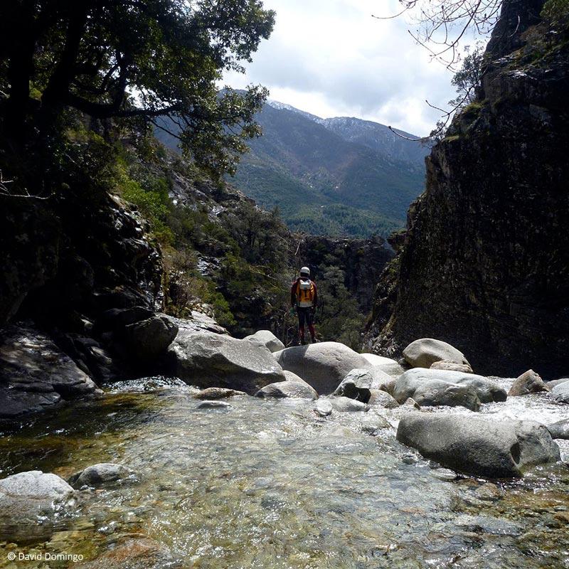 Le canyon de la Richiusa en Corse