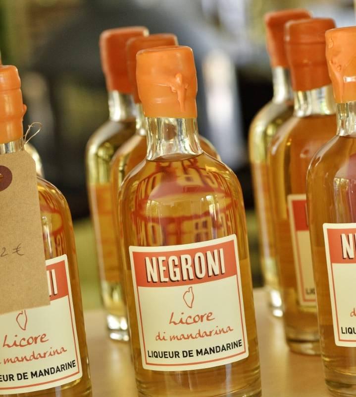 Liqueur corse à la mandarine hôtel proche Ajaccio